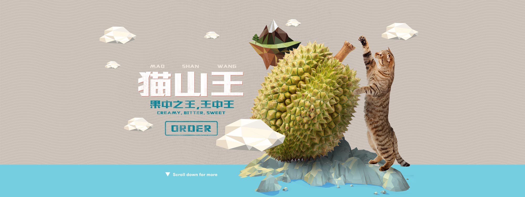 Durian Delivery Mao Shan Wang